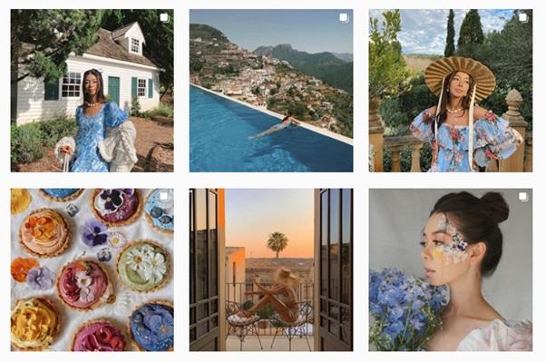 Tema feeds Instagram Bold & Vibrant